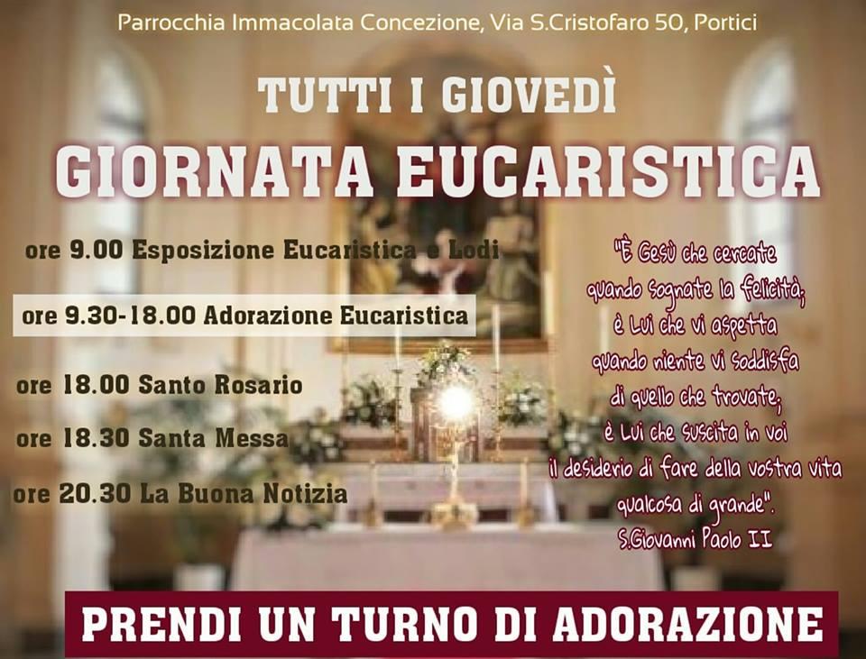 Giovedì Eucaristico